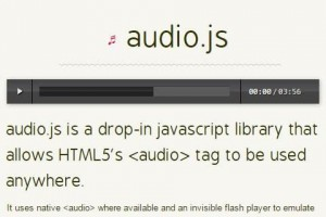 第13讲:JS控制音乐/视频播放